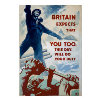 Reprint of a WW2 Recruiting Poster