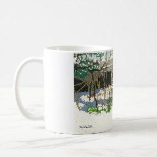 Reproduced from a hand embroidery coffee mug