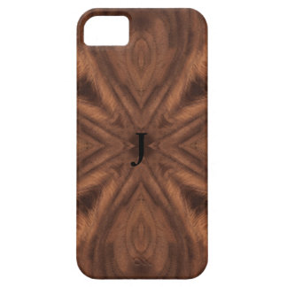 Reproduction Inlaid Wood 4 way book match iPhone 5 Cover