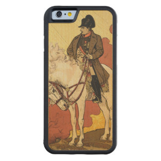 Reproduction of a poster advertising 'A New Life o Carved Maple iPhone 6 Bumper Case