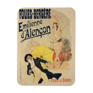 Reproduction of a poster advertising Emile d Alen Flexible Magnet