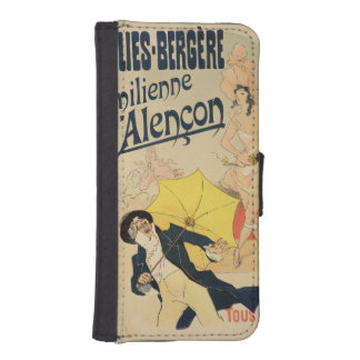 Reproduction of a poster advertising 'Emile d'Alen Phone Wallet