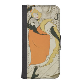 Reproduction of a poster advertising 'Jane Avril' Phone Wallet Case