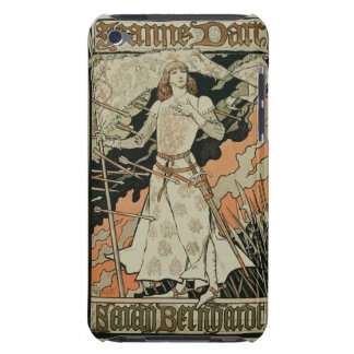 Reproduction of a poster advertising Joan of Arc iPod Case-Mate Cases