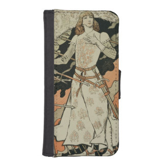 Reproduction of a poster advertising 'Joan of Arc' iPhone 5 Wallet Cases