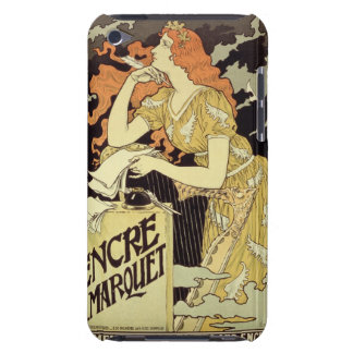Reproduction of a poster advertising Marquet Ink iPod Touch Cover