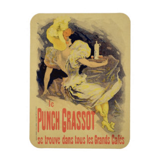 Reproduction of a poster advertising 'Punch Grasso Vinyl Magnet
