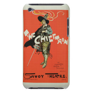 Reproduction of a poster advertising The Chieftai iPod Touch Cover