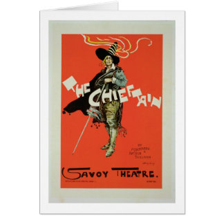 Reproduction of a poster advertising 'The Chieftai Greeting Card