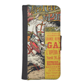 Reproduction of a poster advertising the 'Fetes de Phone Wallet