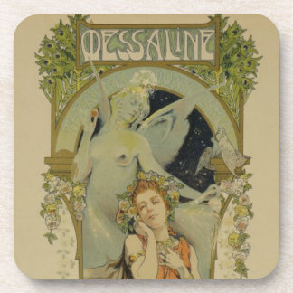 Reproduction of a poster advertising the opera 'Me Beverage Coaster
