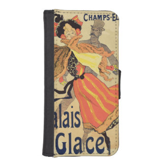 Reproduction of a poster advertising the 'Palais d iPhone 5 Wallets
