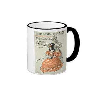 Reproduction of a poster advertising the 'Salon Na Ringer Coffee Mug