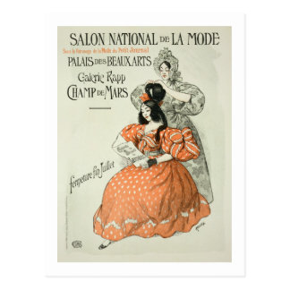 Reproduction of a poster advertising the 'Salon Na Postcard