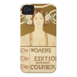 Reproduction of a poster advertising the 'Women's iPhone 4 Case