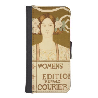 Reproduction of a poster advertising the 'Women's Phone Wallet Case