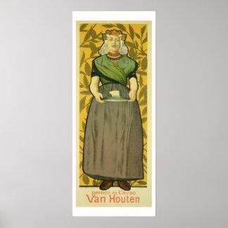 Reproduction of a poster advertising 'Van Houten C