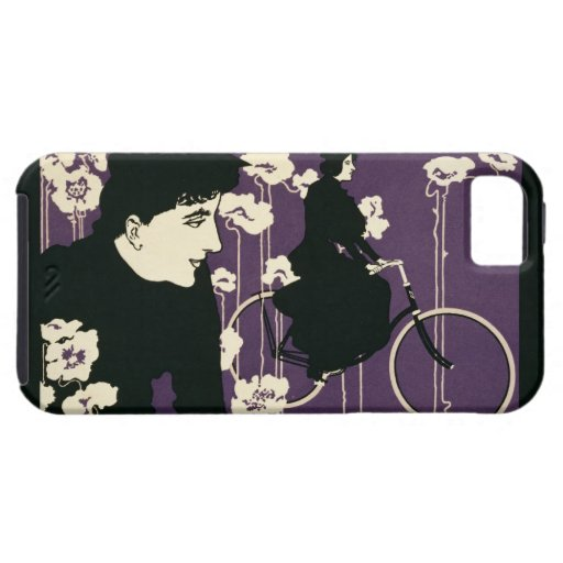 Reproduction of a poster advertising 'Victor Bicyc iPhone 5 Cases
