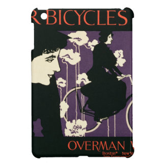 Reproduction of a poster advertising 'Victor Bicyc iPad Mini Cases
