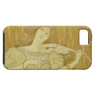 Reproduction of a poster advertising Violin Lesso iPhone 5 Covers