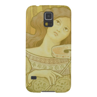 Reproduction of a poster advertising Violin Lesso Galaxy S5 Case