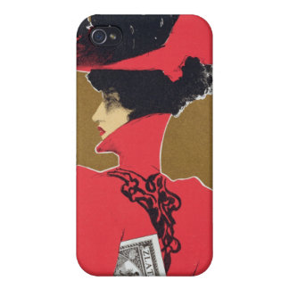 Reproduction of a poster advertising 'Zlata Praha' iPhone 4 Covers