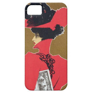 Reproduction of a poster advertising 'Zlata Praha' iPhone 5 Case