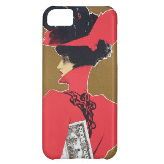 Reproduction of a poster advertising 'Zlata Praha' iPhone 5C Case