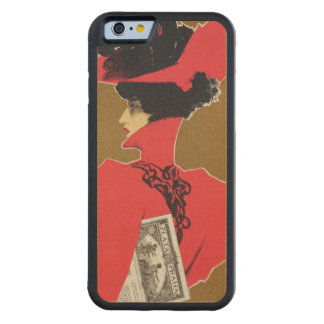 Reproduction of a poster advertising 'Zlata Praha' Maple iPhone 6 Bumper Case