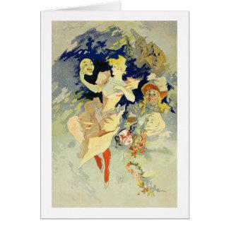 Reproduction of 'La Danse', 1891 (litho) Greeting Card