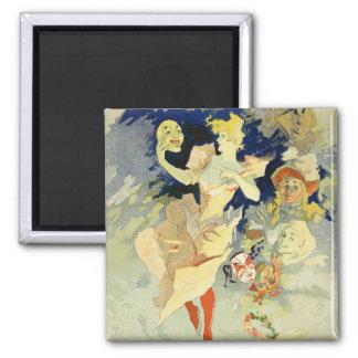 Reproduction of 'La Danse', 1891 (litho) Square Magnet
