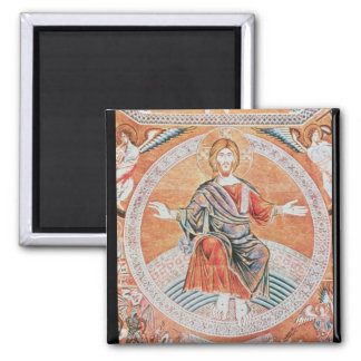 Reproduction of the mosaic square magnet