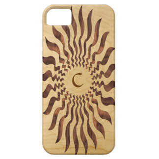 Reproduction Ribbon Inlaid Wood with Monogram iPhone 5 Cases