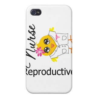 Reproductive Nurse Chick v2 iPhone 4 Covers