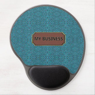 Reptile Black Blue My Business Gel Mousepads