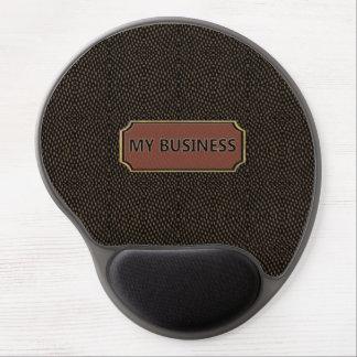 Reptile Black Brown My Business Gel Mousepads
