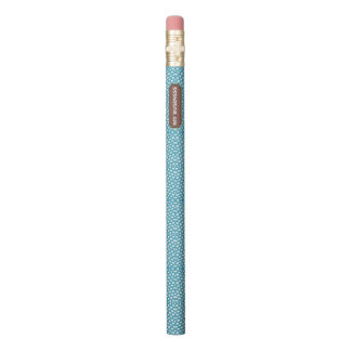 Reptile Blue White My Business Pencil