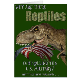 Reptile Controlled Military Card