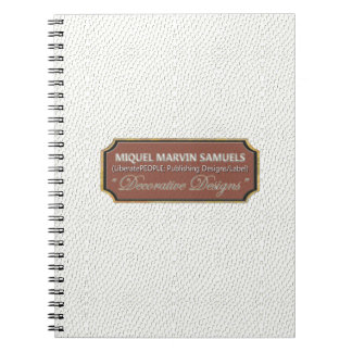 Reptile Decorative#1-c White Modern Notebook