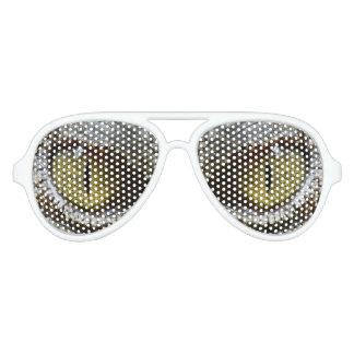 Reptile eyes aviator sunglasses