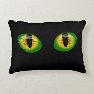 Reptile eyes decorative cushion