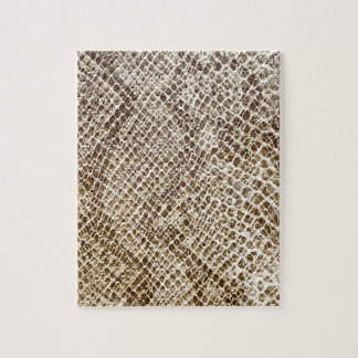 Reptile skin pattern jigsaw puzzle
