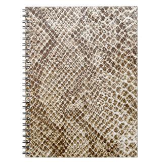 Reptile skin pattern notebooks