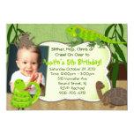 Reptile Themed Birthday Party Invitation 13 Cm X 18 Cm Invitation Card
