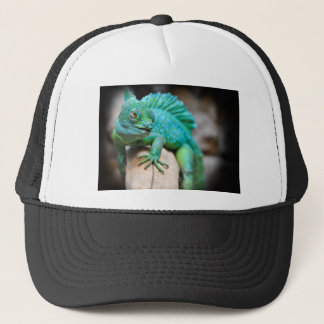 reptile trucker hat