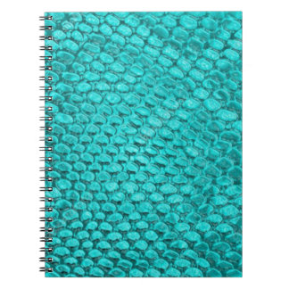 Reptile Turquoise Blue Notebooks