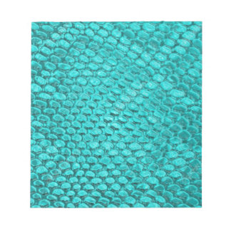 Reptile Turquoise Blue Notepads