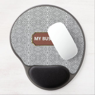 Reptile White Black My Business Gel Mousepads
