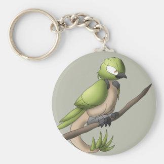 Reptilian Bird Keychain