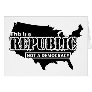 Republic Greeting Card